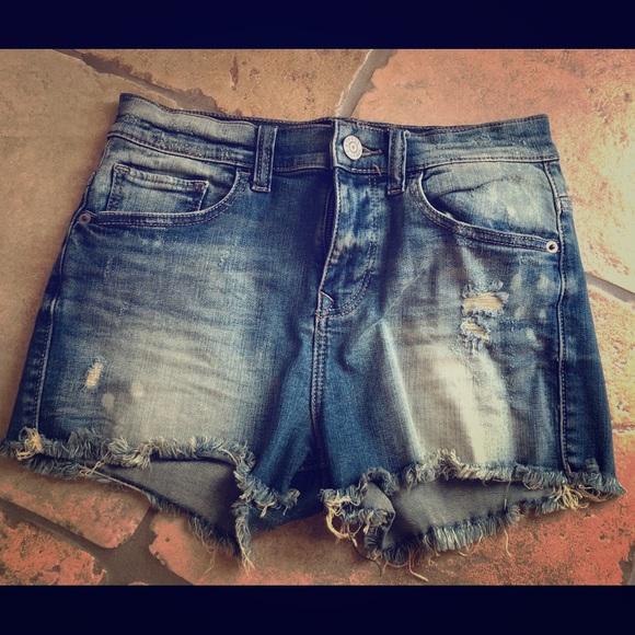 Express Pants - Express blue Jean shorts